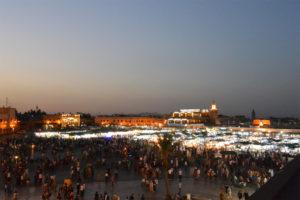 ジャマエルフナ広場 -マラケシュ- -モロッコ観光--