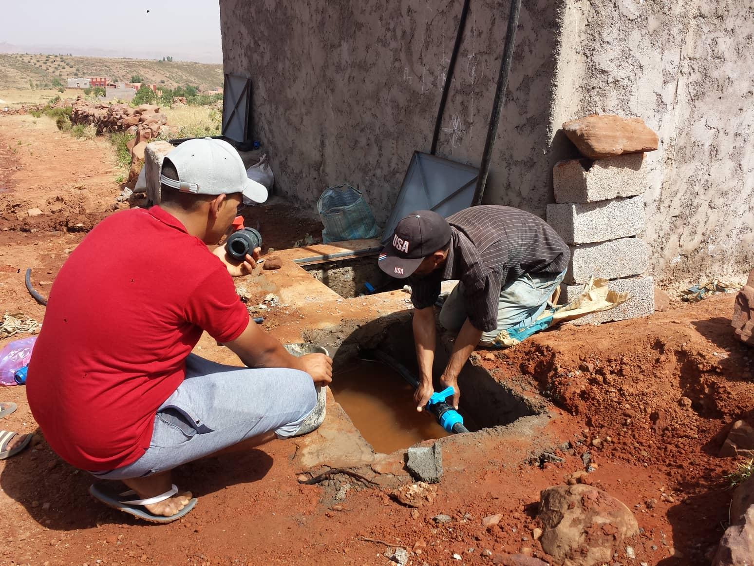 Touama_projet d'eau