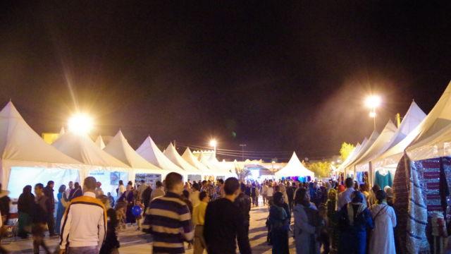 ツマル祭りメイン会場